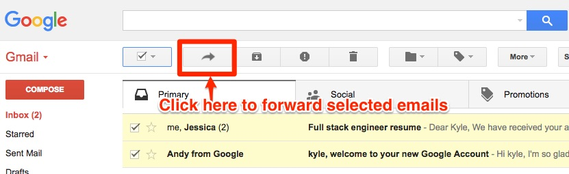How-To-Forward-Multiple-Emails-In-Gmail